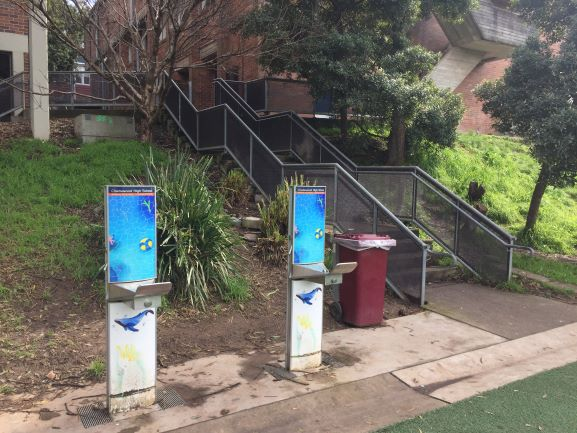 Bubblers and Water Stations