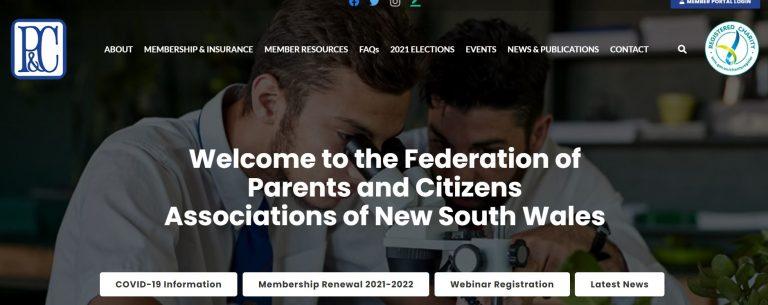 P & C Federation webinar recordings